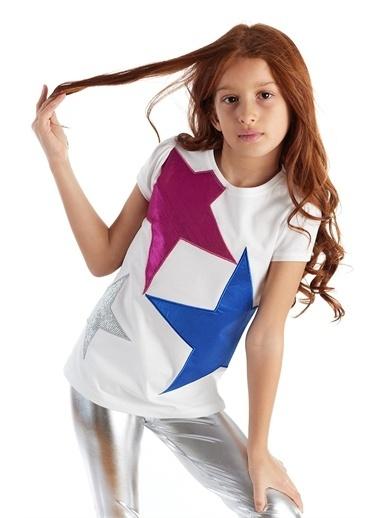 Colorinas Tişört Fuşya